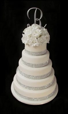 Our winter wedding cake