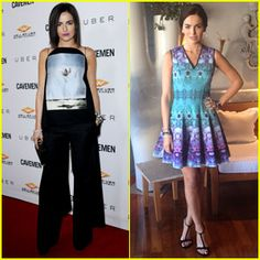 Camilla Belle Attends 'Caveman' Premiere After Film Press Day