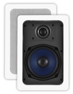 OSD Audio IW530 Custom Series In-Wall Speakers (Pair, Off-White) by OSD Audio. $45.37. Sold in pairs, the OSD-IW530 is for customers willing to go a step up in price and quality. The IW530 has a higher power rating (100W), a pivoting silk dome tweeter and a more advanced crossover network. The pivoting tweeter lets you tailor the direction of the sound while the crossover ensures smooth low frequency, clear mid range and crisp highs.