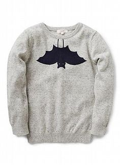Boys Knitwear & Jumpers | Bat Sweater | Seed Heritage
