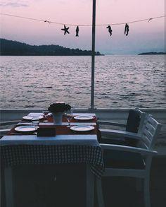 Summer dinners!!  Fethiye, Turkey.   2017 Travel Highlights!