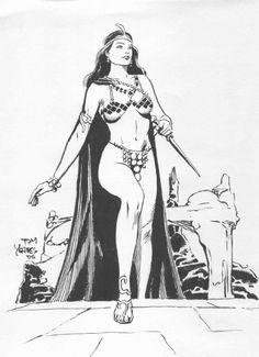 Yeates, Thomas -- Dejah Thoris Comic Art