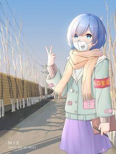 Pretty Anime Girl, Kawaii Anime Girl, Anime Art Girl, Re Zero Wallpaper, Kawaii Wallpaper, H Anime, Anime Chibi, Insta Memes, Ram And Rem