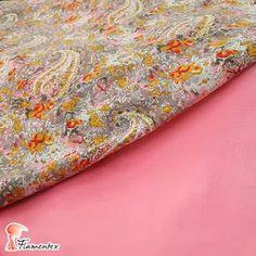 MODELO EGEO/01 - Tejido de algodón estampado. Disponible en: https://flamentex.es/tejidos/Egeo/1