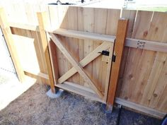 This step by step tutorial of How to Build a Homestead Wooden Fence Gate is a…