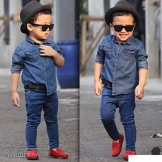 Dressing Kids Like Adults is an Awesome Trend Dressing Kids Like Adults is an Awesome Trend - EveSteps Toddler Swag, Toddler Boy Fashion, Little Boy Fashion, Toddler Boy Outfits, Cute Outfits For Kids, Stylish Boys, Trendy Kids, Baby Boy Dress, Outfits Niños