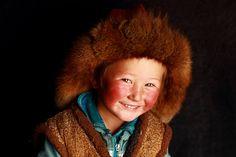 A little Mongolian Kazakh kid, future eagle hunter.Asher Svidensky's photo