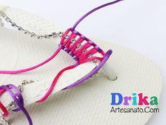 zapatillas decoradas con strass