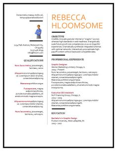 Free Microsoft Word Resume Templates To Help You Land Your Dream