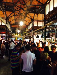 A Guide to Eating in Madrid All Day Long:  Mercado San Miguel Madrid