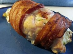 Bacon Wrapped, Cream Cheese Stuffed Chicken Breasts Recipe - Food.com