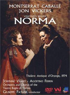 Bellini - Norma / Patane, Caballe, Vickers, Veasey, Theatre Antique dOrange DVD ~ Montserrat Caballé, http://www.amazon.com/dp/B000083C73/ref=cm_sw_r_pi_dp_E4DBrb05A5C2A