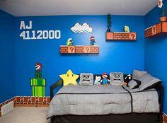 Mario Bros. Bedroom for my son
