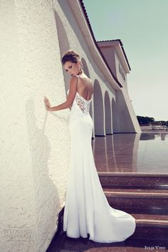 julie vino bridal 2014 sheath wedding dress
