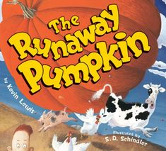 A great Fall read about a very BIG pumpkin that is on the loose.  Have a pumpkin race as a pre-reading activity!