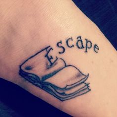36 Stunning Book Tattoos That Are Surprisingly Badass -love the wording with a better book