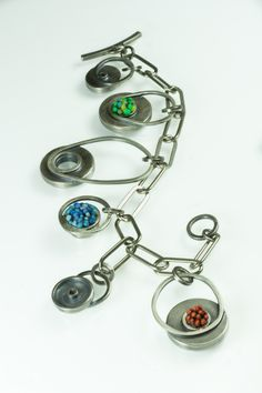 Mary Filapek & Lou Ann Townsend, American Craft Charm Collection, ACC Charm Bracelet #accshow #acccharm #jewelry #finejewelry