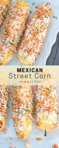 Very Tasty Yummy South-Western Crock Pot Taco Recipes Corn Recipes, Side Dish Recipes, Great Recipes, Recipes Dinner, Food Recipes Summer, Recipies, Drink Recipes, Delicious Recipes, Mexican Dishes