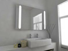 Stella 46 Super Bright LED Bathroom Mirror with sensor, demister pad and shaver socket Size: x x mm Modern Mirror Design, Led Mirror, Mirrors, Get Fresh, Bathroom Cabinets, Design Inspiration, Bright, Ebay, Furniture