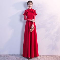trendy ideas for dress long formal evening gowns haute couture Glamorous Evening Dresses, Grey Evening Dresses, Burgundy Evening Dress, Evening Gowns, Trendy Dresses, Nice Dresses, Fashion Dresses, Prom Dresses, Formal Dresses