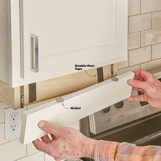 How to Build an Under-Cabinet Drawer (DIY) | Family Handyman Bathroom Drawer Organization, Bathroom Drawers, Kitchen Drawers, Diy Organisation, Kitchen Shelves, Under Cabinet Drawers, Diy Drawers, Cupboard Storage, Wood Drawers