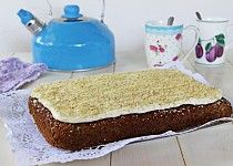 Mrkvové řezy s ořechy Russian Recipes, Vanilla Cake, Food, Polish, Instagram, Recipes, Vitreous Enamel, Essen, Meals