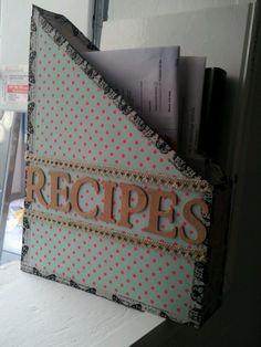 Archivador recetas