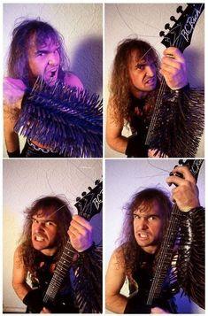 Metal fan Kerry King, Meaningful Lyrics, Metal Fan, Heavy Metal Bands, Thrash Metal, Angel Of Death, Memoirs, Rock And Roll, Punk