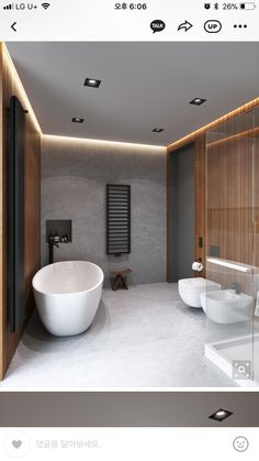 When a couple decides to bring children into their family, it's a transformative experience. Not only will they have another mouth to feed and life to care for, Bathroom Layout, Modern Bathroom Design, Bathroom Interior Design, Modern House Design, Decor Interior Design, Timeless Bathroom, Modern Toilet, Dream Bathrooms, Luxury Bathrooms