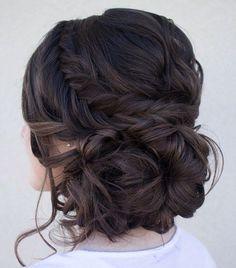 wedding hairstyle idea; Via Hair and Make-up by Steph #bridalhairstyles #weddingupdos #updoideas
