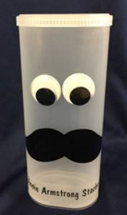 Watch as Mr. Mark makes a Stache' Bank. With only a few supplies, you can make this fun-looking bank for missions too. #KidMin #MoneyforMissions #Stache #DIYBank #KidsCraft #MrMarksClassroomStache' Missions Bank|Mr. Mark's Classroom Sticky Back Vinyl, Holiday Crafts, Holiday Ideas, Mission Projects, Drink Containers, Classroom, Watch, Fun, Class Room