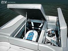 Pieces Lot Ft Bayliner Capri Upholstered Boat Interiors - Bayliner boat decalsfour winns sun downer boat back to back seatbase stand red