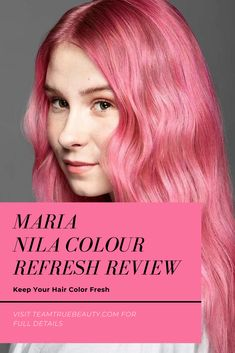 Team True Beauty Blogs:  Keep Your Hair Color Fresh: Maria Nila Colour Refresh Review - If you have been keeping up with my blog, you know that I love my hair products. Heck, I'm a hairstylist, it comes with the territory. My newest favorite is the Maria Nila Colour Refresh. #hairstyles #hair #haircare #haircare #haircutideas #haircolor #haircaretipsforgrowth #haircaregrowth #haircarehacks #haircareremedies Beauty Blogs, Beauty Hacks, Makeup Tips, Eye Makeup, Mermaid Hair, True Beauty, Hair Products, Hair Hacks, Haircolor