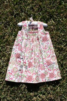 Oliver + S Birthday Party Dress with Smocking | Flickr - Photo Sharing!