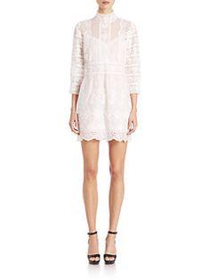 Marc Jacobs - Victorian Cotton Button-Back Dress