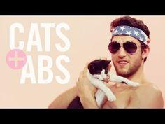 BREAKING: Adorable kittens and shirtless male models break the internet #CatsAndAbs