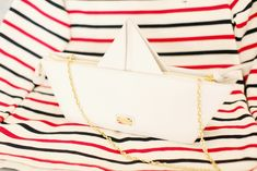 Moschino Cheap and Chic paper boat bag