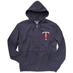 Minnesota Twins Buzz Full-Zip Hood - MLB.com Shop