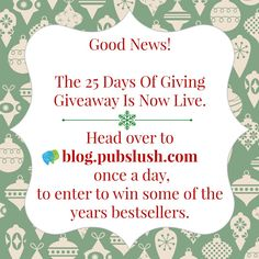 Win free books!