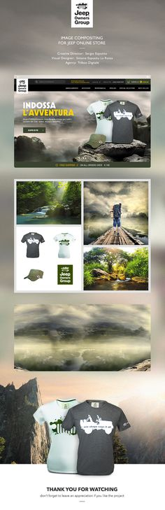 JEEP® OWNERS GROUP // image compositing for online store http://on.be.net/18Xu33y