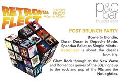 RetroFlect - #AbuDhabi's #original #postbrunch #party returns to P&C Bar Shangri-La Hotel Qaryat Al Beri Abu Dhabi every #Friday from 4pm till 8pm.  Enjoy #FREE Jagerbombs and Skittlebombs until 6pm while listening to the #music from the 70s 80s and 90s.  They say that imitation is the most sincere form of flattery. It's the party that spawned many similar concepts but we think that original is #best! From Bowie to Duran Duran Prince to Simple Minds - RetroFlect is about the classics from…