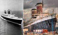 The SS United States, a historic and record-breaking ocean liner that once hosted royalty and presidents, has escaped the scrap heap and will undergo a rebirth.