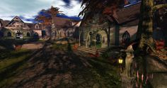 Fantasy Faire 2014 - Medhir Woods Largest Waterfall, Autumn Forest, Woods, Fantasy, Explore, Mansions, House Styles, Nature, Naturaleza