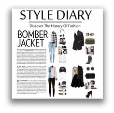 """The Bomber Jacket"" by aniyah-xxxx ❤ liked on Polyvore featuring Vanity Fair, Temperley London, Chicwish, H&M, Rick Owens, Dolce&Gabbana, Off-White, Carianne Moore, Rick Owens Lilies and Chanel"