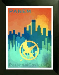 Panem: The entire Hunger Games Trilogy keeps the setting in the country of Panem. All the districts and outlying district 13 reside there.