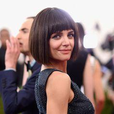 Met Gala 2015 Beauty: Cool Hair Add-ons, Dark Lips, and the Return of Katie Holmes' Bob