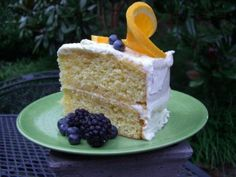 Orange cake - I love the Cake Doctor because I'm not a patient baker, and she makes me look like I am! :)