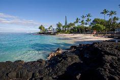 Magic Sands Beach ~ Kona, Big Island of Hawaii Vacation Destinations, Dream Vacations, Vacation Spots, Vacation Ideas, Big Island Hawaii, Island Beach, Hawaii Vacation, Hawaii Travel, Hawaii Honeymoon