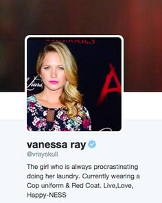 "That's right. Vanessa Ray AKA CeCe Drake's Twitter icon just subtly pointed it out THIS WHOLE TIME. | Did ""Pretty Little Liars"" Fans Miss The Biggest Clue"