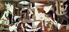Описание картины Пабло Пикассо «Герника»